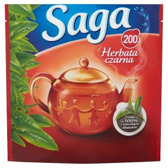 Saga Black Tea 280 g (200 Tea Bags)
