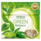 Tesco Green Balance Herbata zielona ekspresowa 30 g (20 torebek)