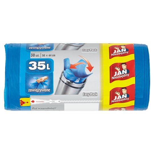 Jan Niezbędny Easy-Pack Garbage Bags 35 L 30 Pieces