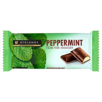 Ryelands Chocolates Peppermint Filled Milk Chocolate 100 g