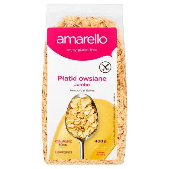 Amarello Jumbo Oat Flakes 400 g