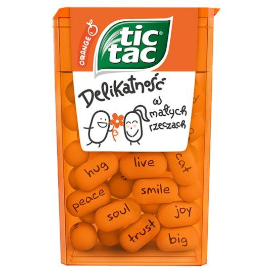 Tic Tac Drażetki o smaku pomarańczowym 18 g