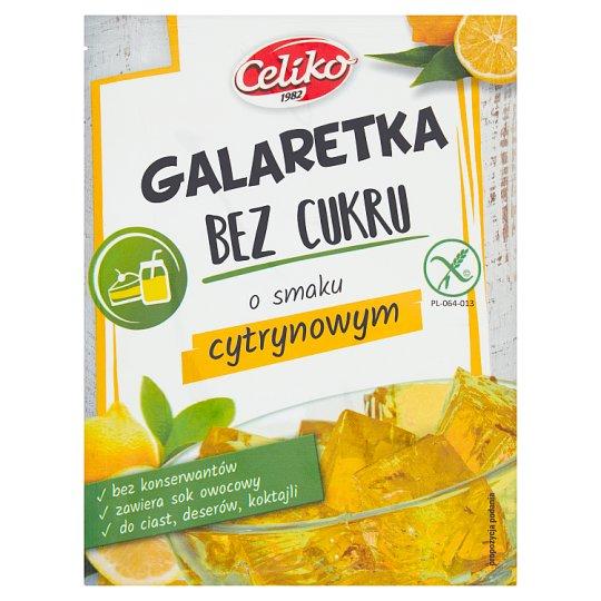 Natura Sugar Free Jelly Lemon Flavor 14 g