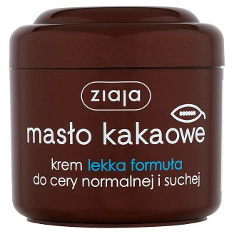 Ziaja Cocoa Butter Light Formula Cream for Normal and Dry Skin 200 ml