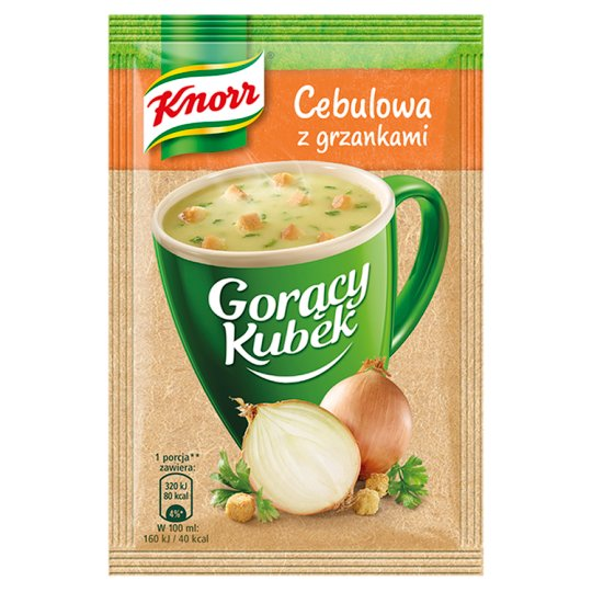 Knorr Gorący Kubek Onion Soup with Croutons 17 g