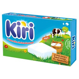 Kiri Processed Cheese with Cottage Cheese and Cream 100 g (6 Portions)