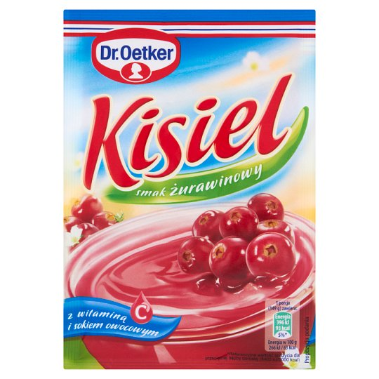 Dr. Oetker Cranberry Flavoured Instant Jelly 38 g
