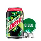 Mountain Dew Carbonated Drink 330 ml