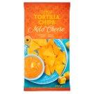 Tesco Tortilla Chipsy kukurydziane łagodny ser 200 g