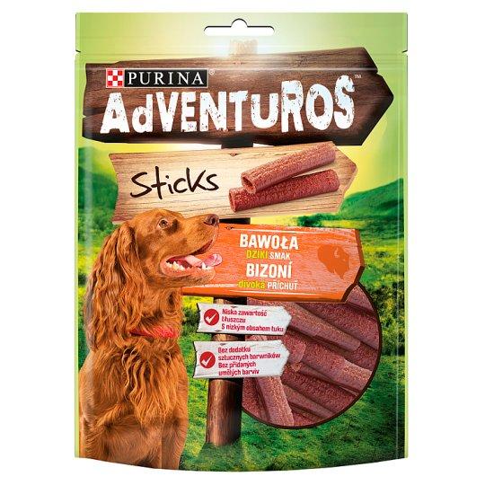 AdVENTuROS Sticks Buffalo Flavour Dog Food 120 g