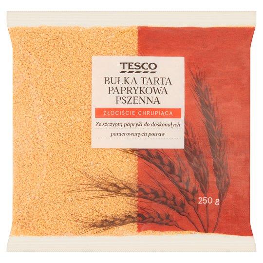 Tesco Bułka tarta paprykowa pszenna 250 g