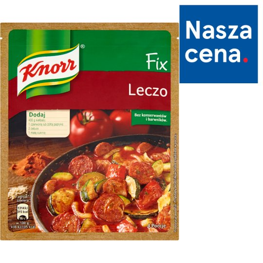Knorr Fix Leczo 35 g