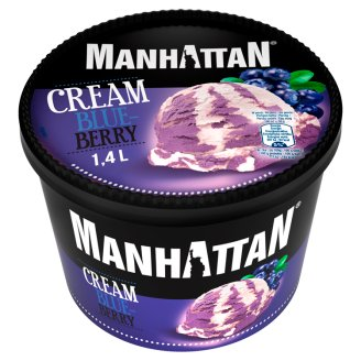 Manhattan Classic Cream Blueberry Ice Cream 1.4 L