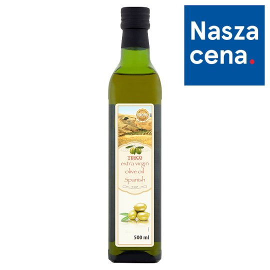 Tesco Spanish Extra Virgin Olive Oil 500 ml