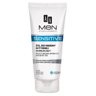 AA Men Sensitive Moisturizing Intimate Gel 200 ml
