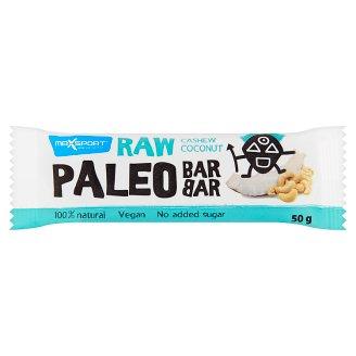 MaxSport Raw Paleo Baton z kokosem i orzechami nerkowca 50 g