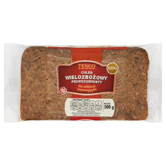 Tesco Multigrain Wholemeal Bread 500 g