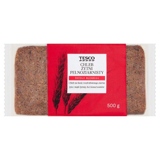 Tesco Wholemeal Rye Bread 450 g