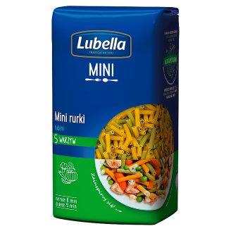 Lubella Makaron mini rurki 5 warzyw tubini 400 g
