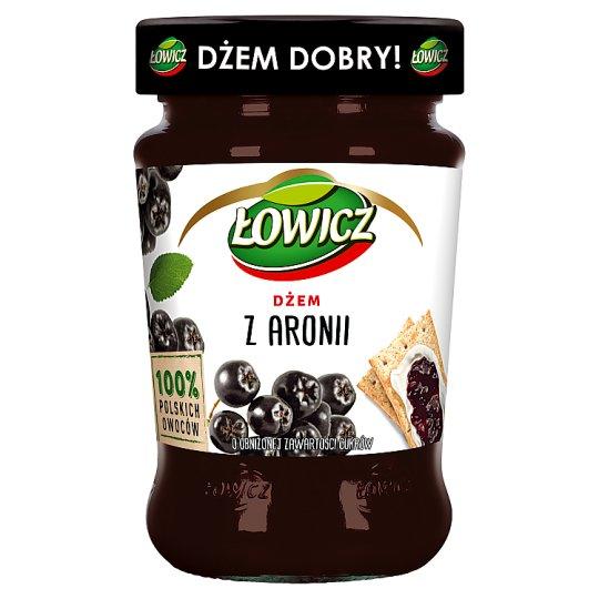 Łowicz Low Sugar Chokeberry Jam 280 g