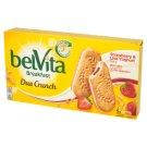 belVita Breakfast Duo Crunch Strawberry & Live Yogurt Ciastka zbożowe 253 g (5 x 2 sztuki)