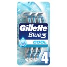 Gillette Blue3 Cool Men's 3-Bladed Disposable Razor, 8 Pack