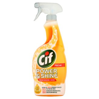 Cif Power & Shine Anti-grease Spray 750 ml