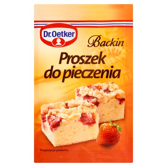 Dr. Oetker Backin Baking Powder 3 x 15 g