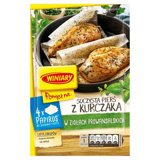 Winiary Pomysł na... Juicy Chicken Breast with Provencal Herbs 23.4 g