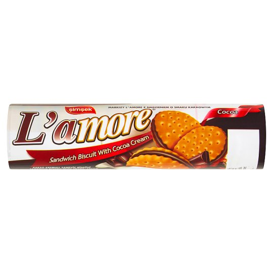 Simsek L'amore Biscuit with Cocoa Cream 150 g