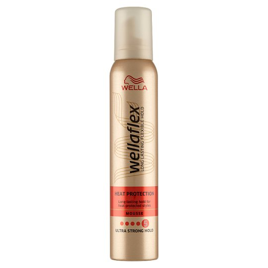 Wella Wellaflex Heat Protection Hair Mousse 200 ml