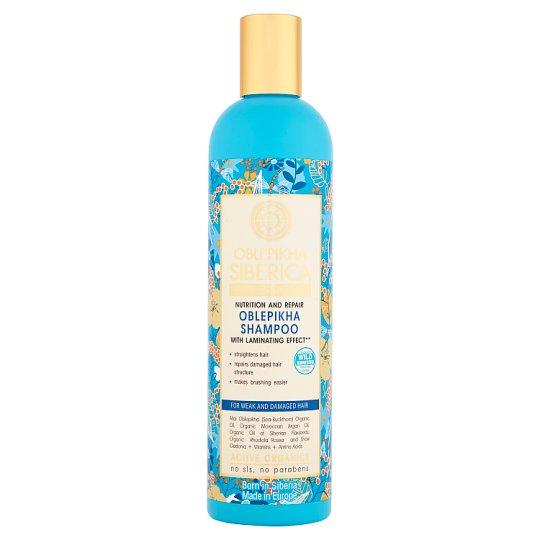 Natura Siberica Oblepikha Nutrition and Repair Oblepikha Hair Shampoo with Laminating Effect 400 ml