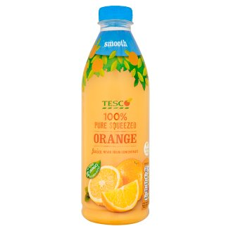 Tesco 100% Pure Squeezed Orange Juice Never from Concentrate 1 L