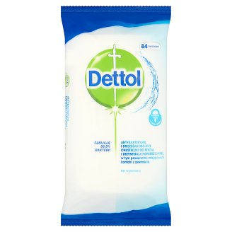 Dettol Antibacterial Surface Wipes 84 Pieces