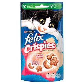 Felix Crispies Uzupełniająca karma o smaku łososia i pstrąga 45 g