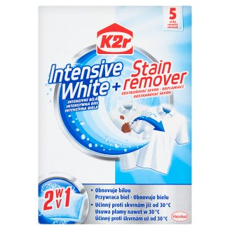 K2r Intensive White + Stain Remover 150 g (5 Pieces)