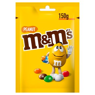 M&M's Peanut Peanuts Covered with Milk Chocolate 150 g
