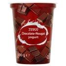 Tesco Jogurt czekoladowo-nugatowy 400 g
