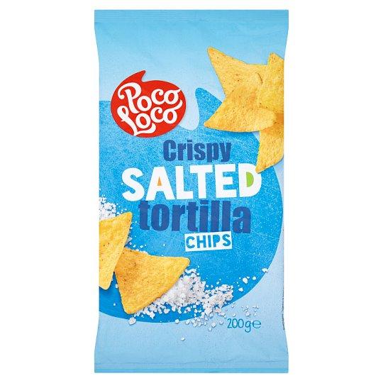 Poco Loco Crispy Salted Tortilla Chips 200 g