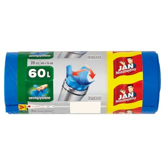 Jan Niezbędny Easy-Pack Garbage Bags 60 L 20 Pieces
