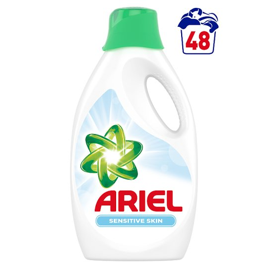 Ariel Sensitive Płyn do prania 2,64 l, 48 prania