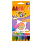 BiC Kids Hexagonal Oil Pastels 12 Colours