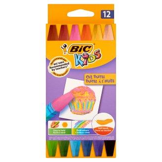 BiC Kids Hexagonal Oil Pastels 12 Colours