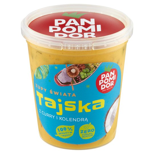 Pan Pomidor Thai with Coconut Milk and Yellow Curry Soup 400 g