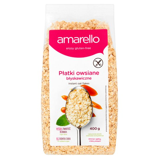 Amarello Instant Oat Flakes 400 g