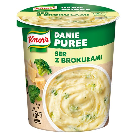 Knorr Instant Dish Puree Cheese with Broccoli 50 g