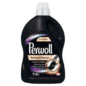 Perwoll renew Advanced Effect Black & Fiber Płynny środek do prania 2,7 l (45 prań)