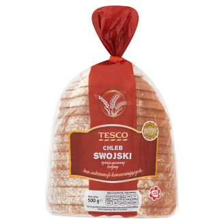 Tesco Swojski Rye-wheat Sliced Bread 500 g