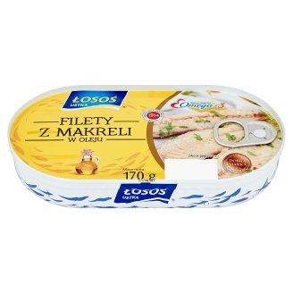 Łosoś Ustka Mackerel Fillets in Oil 170 g
