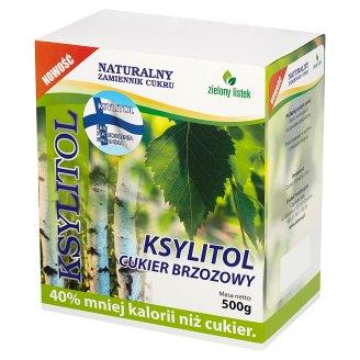 Zielony listek Xylitol Birch Sugar 500 g